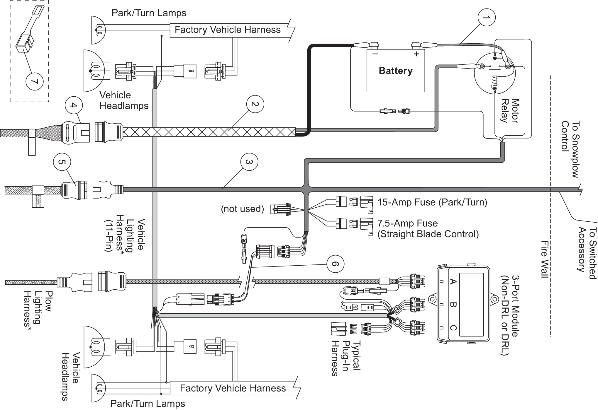 Western Plows Wiring Diagram - Schematic Wiring Diagram on