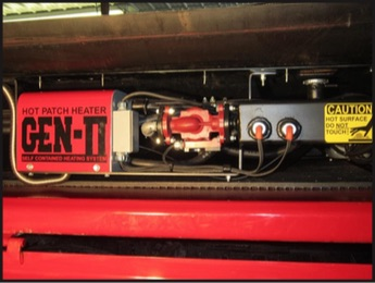 GEN II heating unit,